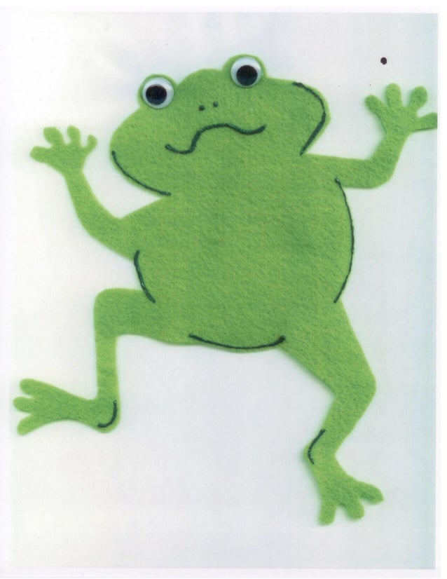 Froggy Gets Dressed flannel pattern