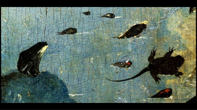 Frogs and toads in Western painting Slide 2