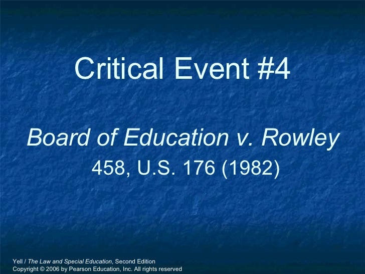Board of Education of the Hendrick Hudson Central School District v. Rowley