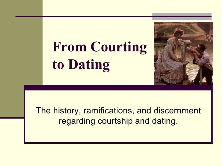A history of dating