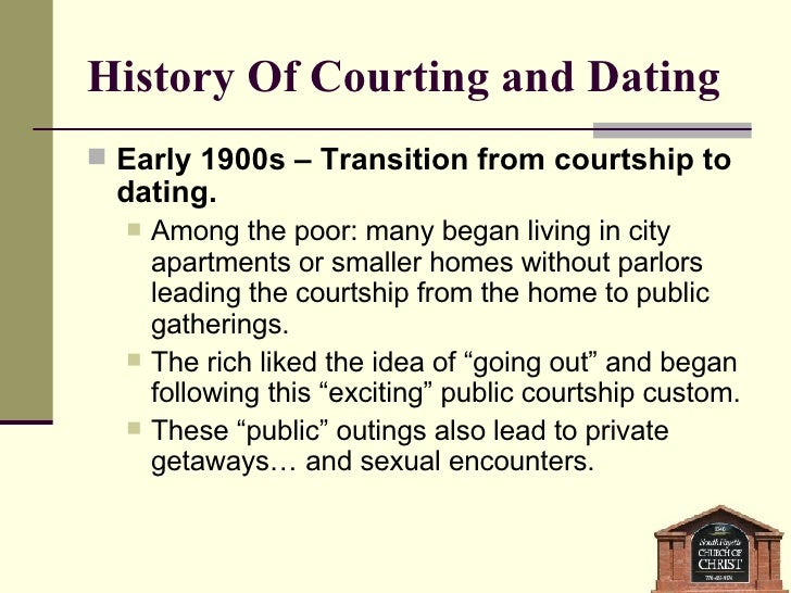 Dating in the 1900s