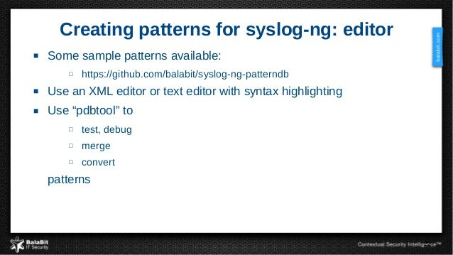 Syslog ng from log collection to processing and information extracti 22 pronofoot35fo Gallery