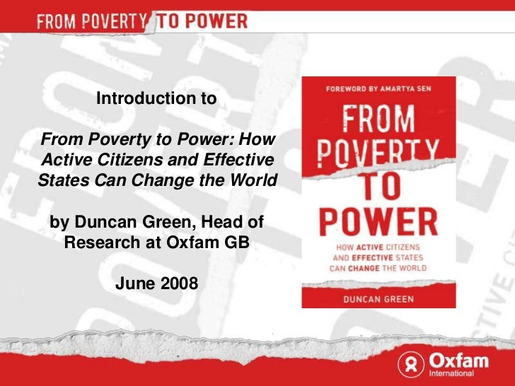 Book image<br />Introduction to <br />From Poverty to Power: How Active Citizens and Effective States Can Change the World...