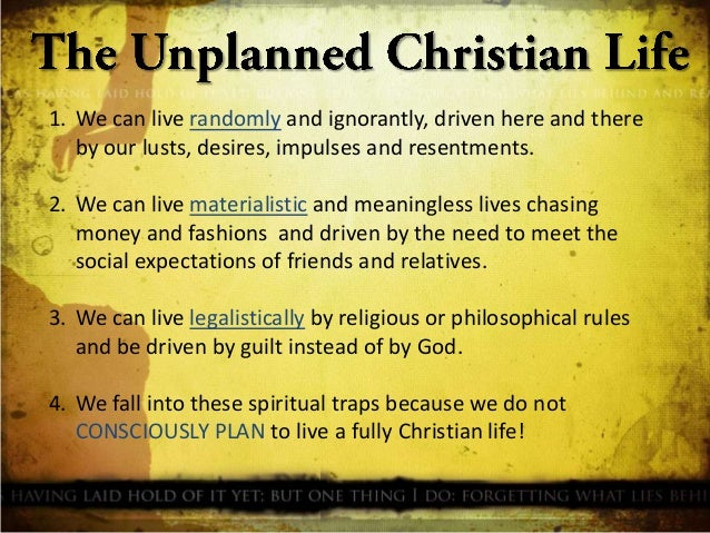 Christian rules of life