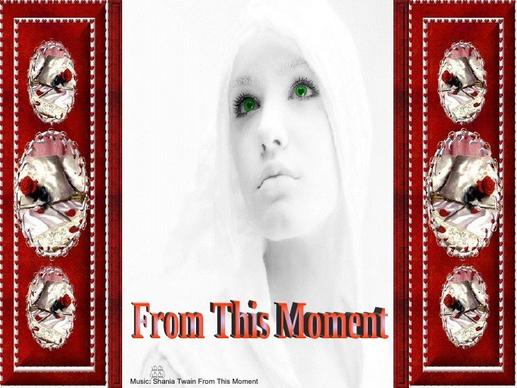 From This Moment Music: Shania Twain From This Moment