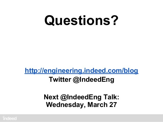 [@IndeedEng] From 1 To 1 Billion: Evolution of Indeed's Document Serving System