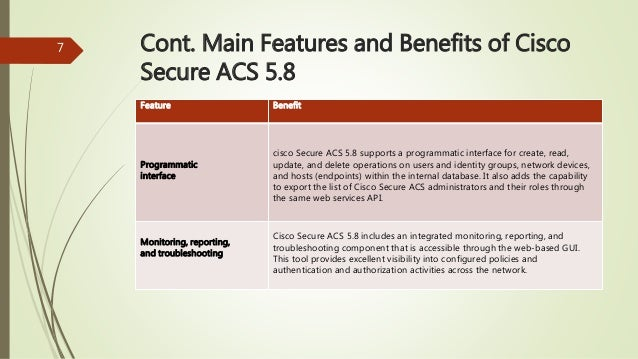 From Cisco ACS to ISE