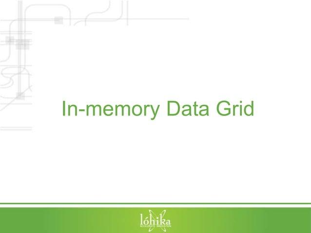In-memory Data Grid