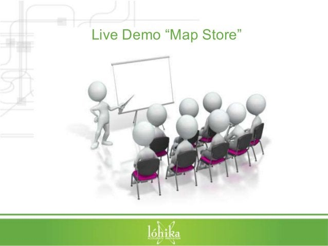 """Live Demo """"Map Store"""""""