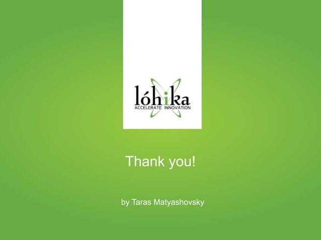 Thank you!  by Taras Matyashovsky