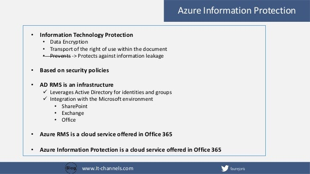 document protection office 365