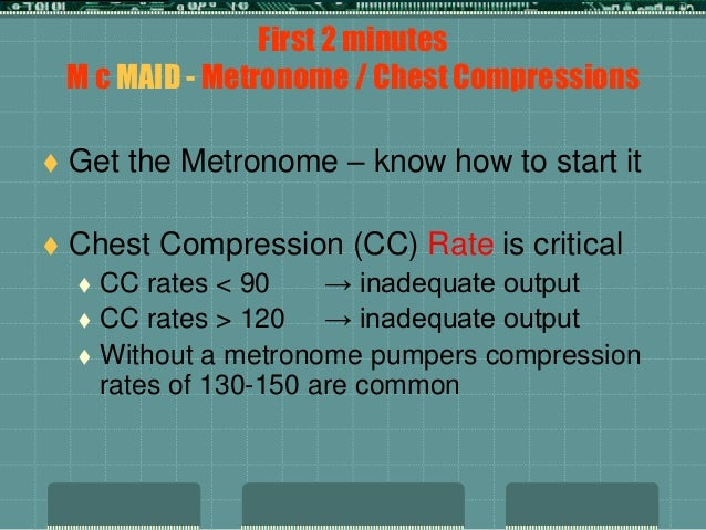 what is the maximum interval for pausing chest compressions