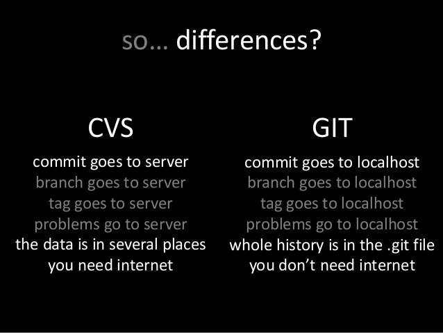 from cvs to git