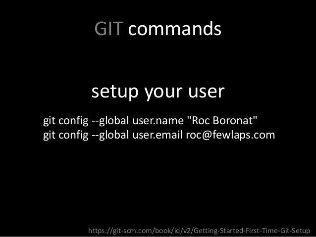 git config username