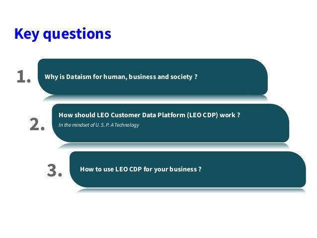 From Dataism to Customer Data Platform Slide 3