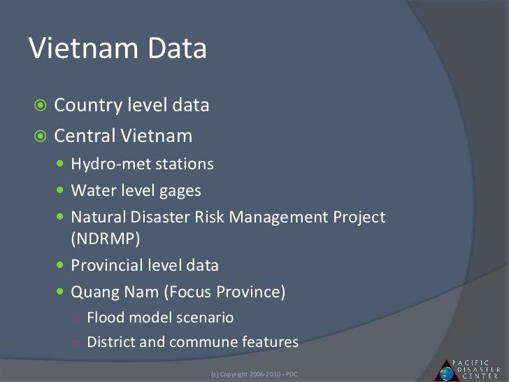 Vietnam Natural Disaster Risk Management Project
