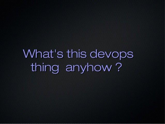 From devoops to devops Slide 3