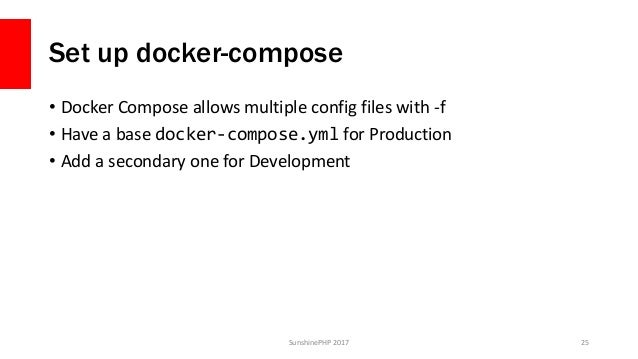 From Docker to Production - SunshinePHP 2017