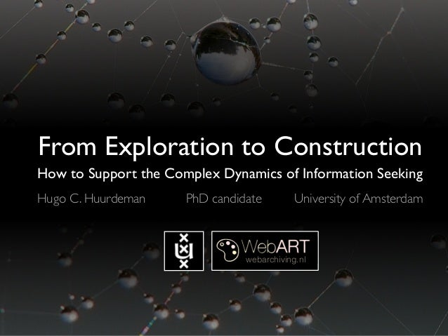 From Exploration to Construction