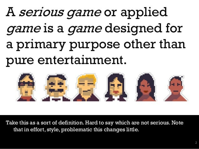 From Gamification to Game Design Slide 2