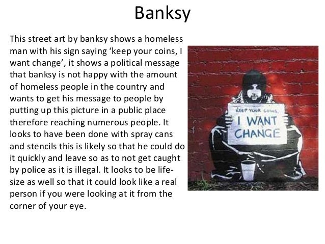 from graffiti to street art essay pp pptx 10 banksy this street art