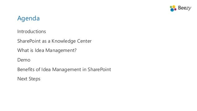 from ideas to innovation formalizing idea management in sharepoint