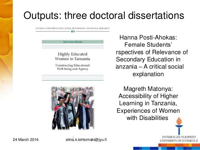 women educational administration dissertations