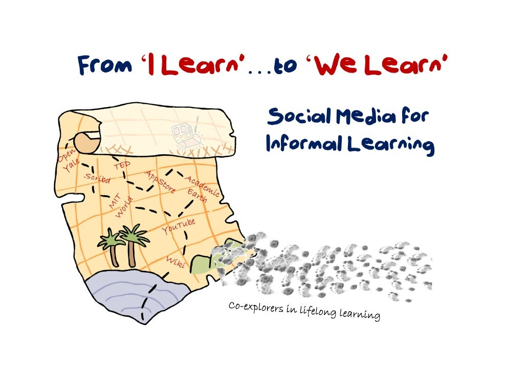 From 'I Learn'…to 'We Learn'               Social Media for               Informal Learning