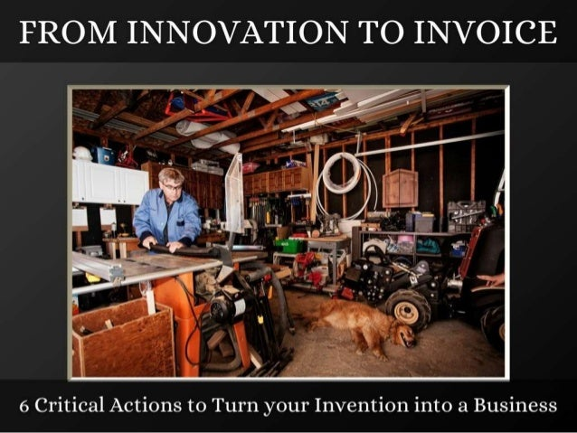 From Innovation to Invoice