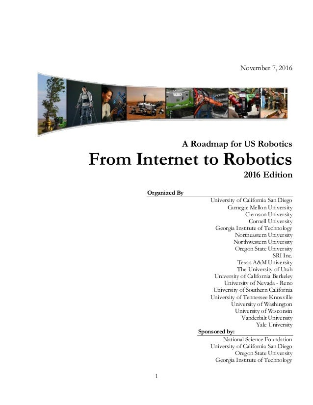 2016 - From Internet to Robots - A Roadmap