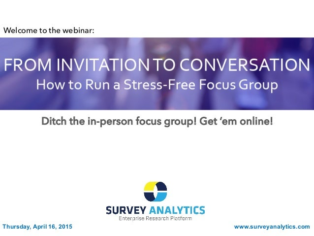 From Invitation to Conversation: How to Run a Stress-Free ...