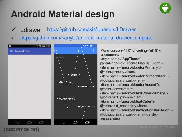 Interface Design: Android User Interface Design Xml