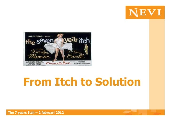 From Itch to SolutionThe 7 years Itch – 2 februari 2012