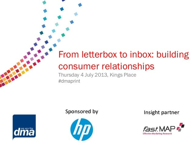 Data protection 2013 Friday 8 February #dmadata Supported by From letterbox to inbox: building consumer relationships Thur...