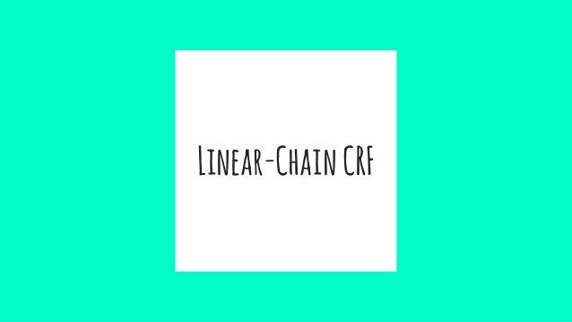 Linear-ChainCRF