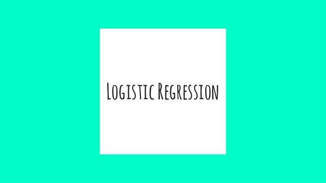 LogisticRegression