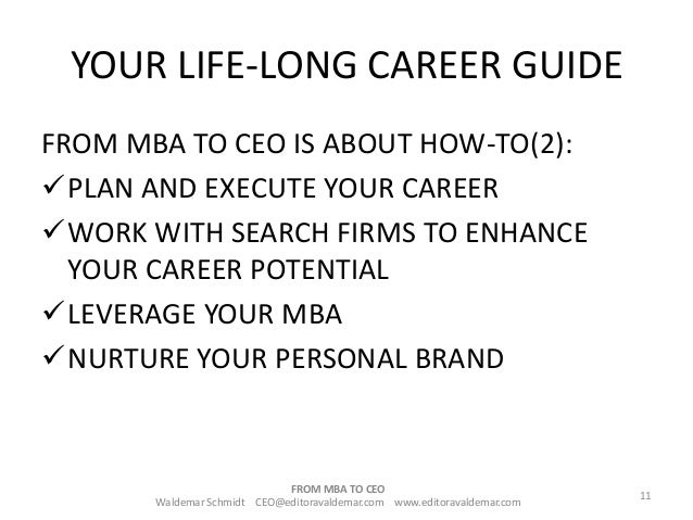 how to become a ceo instlife