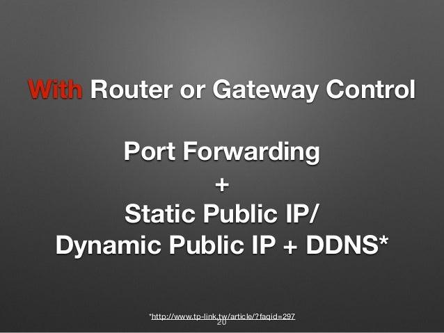 Dynamic Dns And Nat