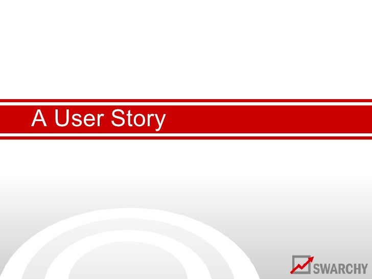 A User Story<br />