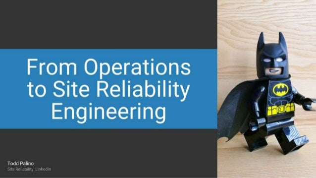 From Operations to Site Reliability in Five Easy Steps