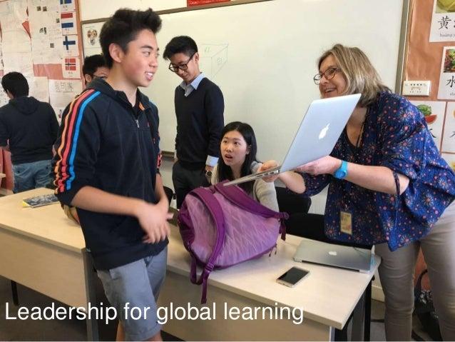Leadership for global learning