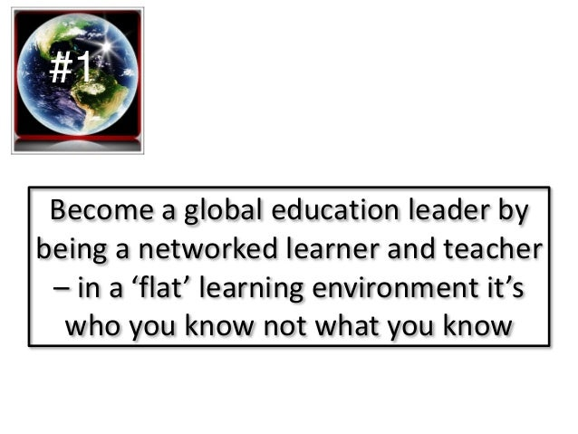Lead the way for new pedagogical approaches to online collaborative learning! #2