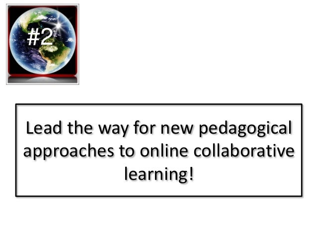 Go beyond the wow - we have the technology, we have the pedagogy - it's time to connect the world for meaningful co-creati...