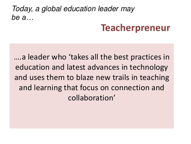 Collaborative Teaching Best Practices : From pedagogy to cosmogogy leadership for online global