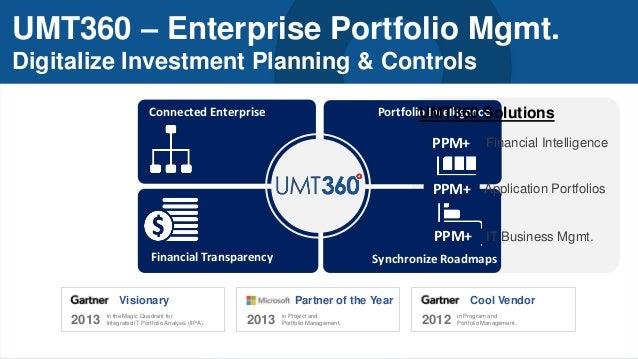 From PPM to Enterprise Portfolio Management - 051214