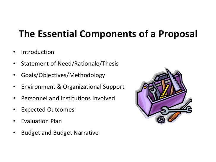 thesis proposal expected outcomes