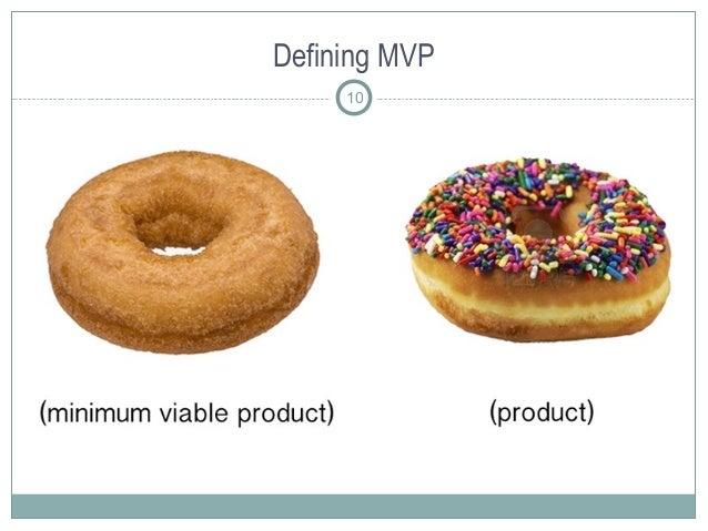 Defining MVP 10