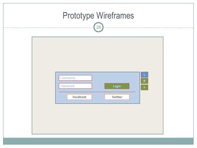 Prototype Wireframes 26