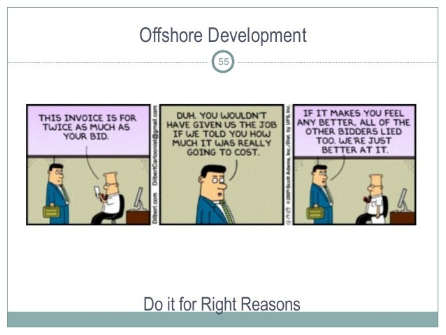 Offshore Development Do it for Right Reasons 55