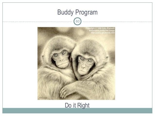 Buddy Program Do it Right 60